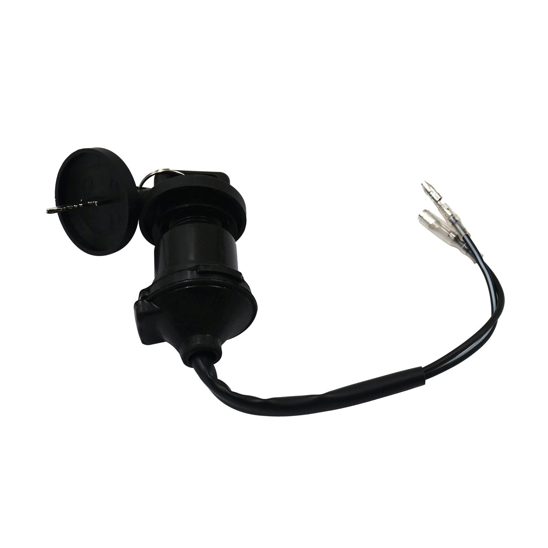 FLYPIG 2 Wires Ignition Key Switch for Yamaha Blaster YFS200 YFS 200 Quad ATV 1998 1999 2000 2001 2002 2003 2004 2005 2006