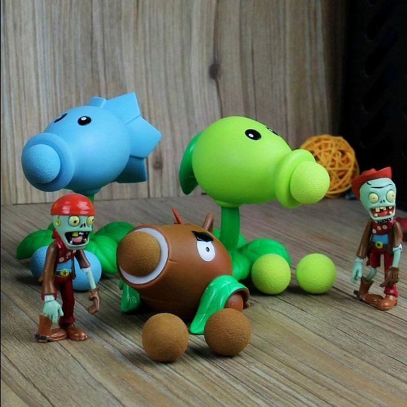 Plants-vs-Zombies-Action-Figure-Toys-For-Children-Parent-Child-Interactive-Toy-Pea-Shooter-Red-Chilli (4)
