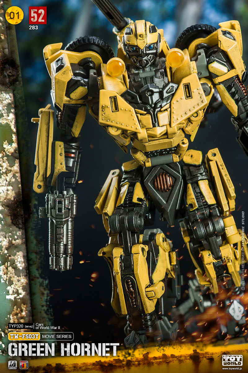 in stock New Transformed toys TW-FS03Y World War II Bumblebe Action Figure