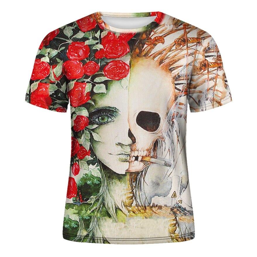 DE001-T恤短袖模版-前