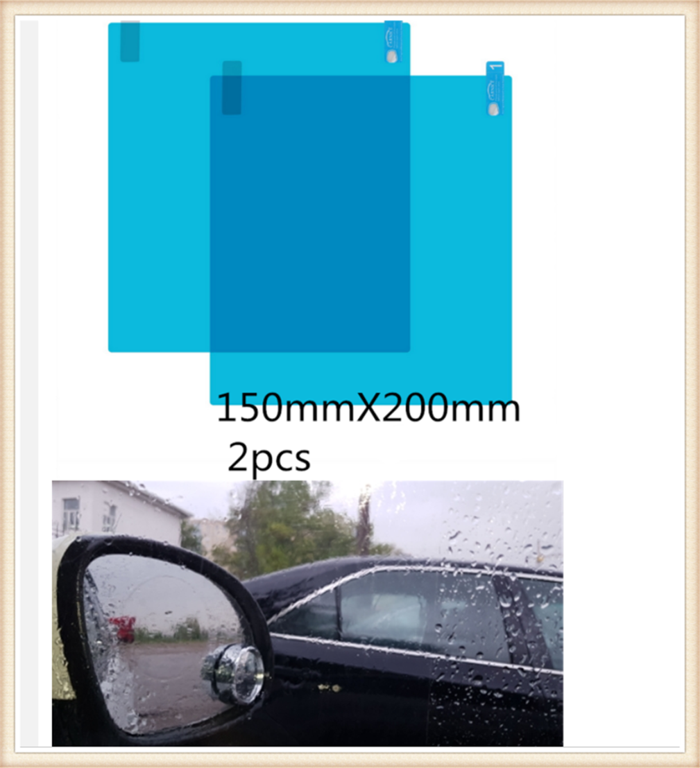 Car rearview mirror nano waterproof membrane anti-fog clear vision for Porsche 918 Cayman Boxster 919 718 GT3