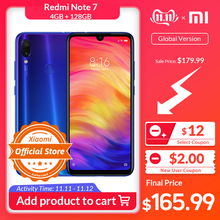 Xiaomi Redmi Note 7 4GB 128GB CDMA2000/LTE/CDMA/.. Quick Charge 4.0 Gorilla Glass Octa Core