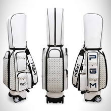 Package Wheels Golf-Aviation-Bag Pgm Travel Portable Pu with Large-Capacity
