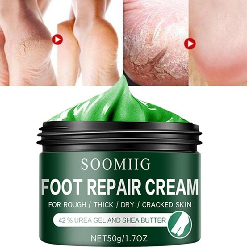 Foot cream for dry, cracked feet approved by the American Podiatric Medical Association