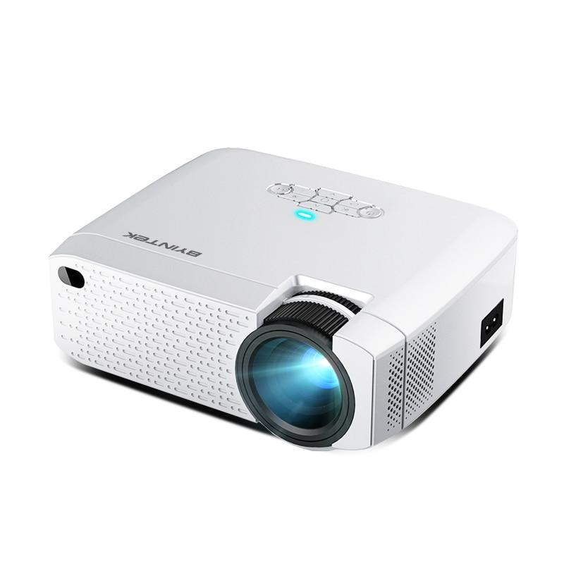 BYINTEK C520 мини-проектор HD (опционально Android 10 TV Box),150 дюймов домашний кинотеатр, Портативный светодиодный проектор для телефона 1080P 3D 4K
