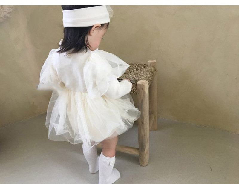 Baby Princess Party Wedding Dress 11
