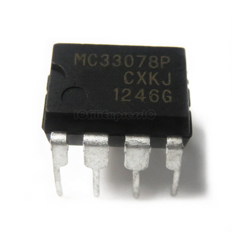 10pcs/lot MC33078P MC33078 DIP-8 In Stock