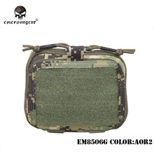 Map Pouch Emersongear Tactical Multi-Purpose Army Military MOLLE And Nylon Goggle Combat-Gear