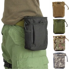 Bag Pouches Magazine-Dump Ammo Waist-Pack Rifle Airsoft Military Tactical-Molle Hunting