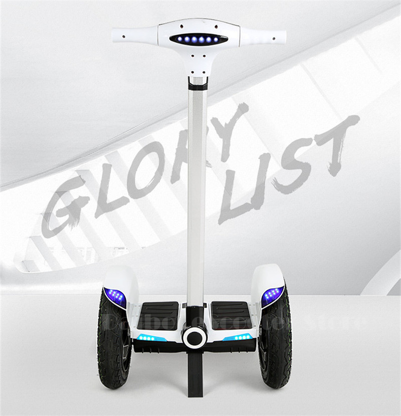 Daibot Off Road Hoverboard 2 Wheels Self Balancing Scooter With Bluetooth 15 Inch 700W 36V Adult Powerful Electric Scooter  (6)