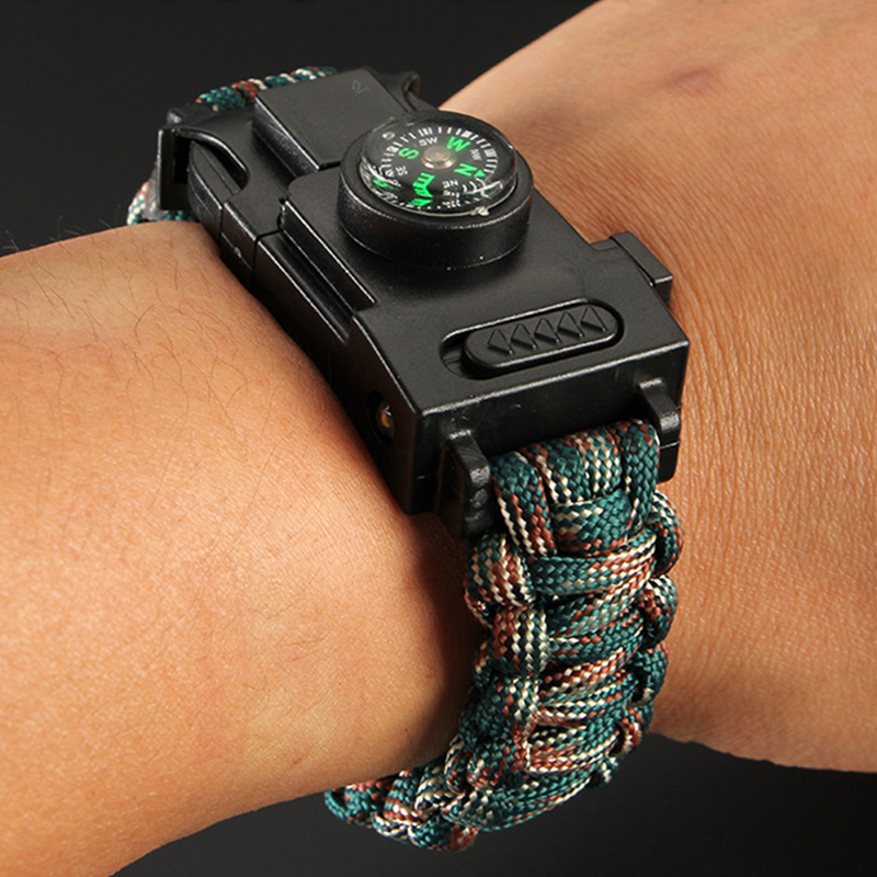LED-Light-Safety-Survival-Paracord-550-Camouflage-Bracelet-Terkking-Hiking-Emergency-First-Aid-Bracelet-25cm-Hand