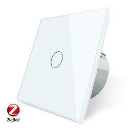 Livolo ЕС стандарт Zigbee умный wifi настенный сенсорный светильник, приложение Беспроводное управление, работает с google home,Alexa voice,amazon echo