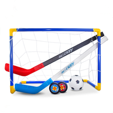 Football-Set Training-Tools Ice-Hockey-Stick Golf Plastic Kids Children Mini Winter Removable