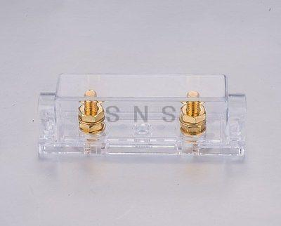 In-Line ANL 60 Amp 60A ANL Electrical Protection Fuse Blade Fuse Gold Plated