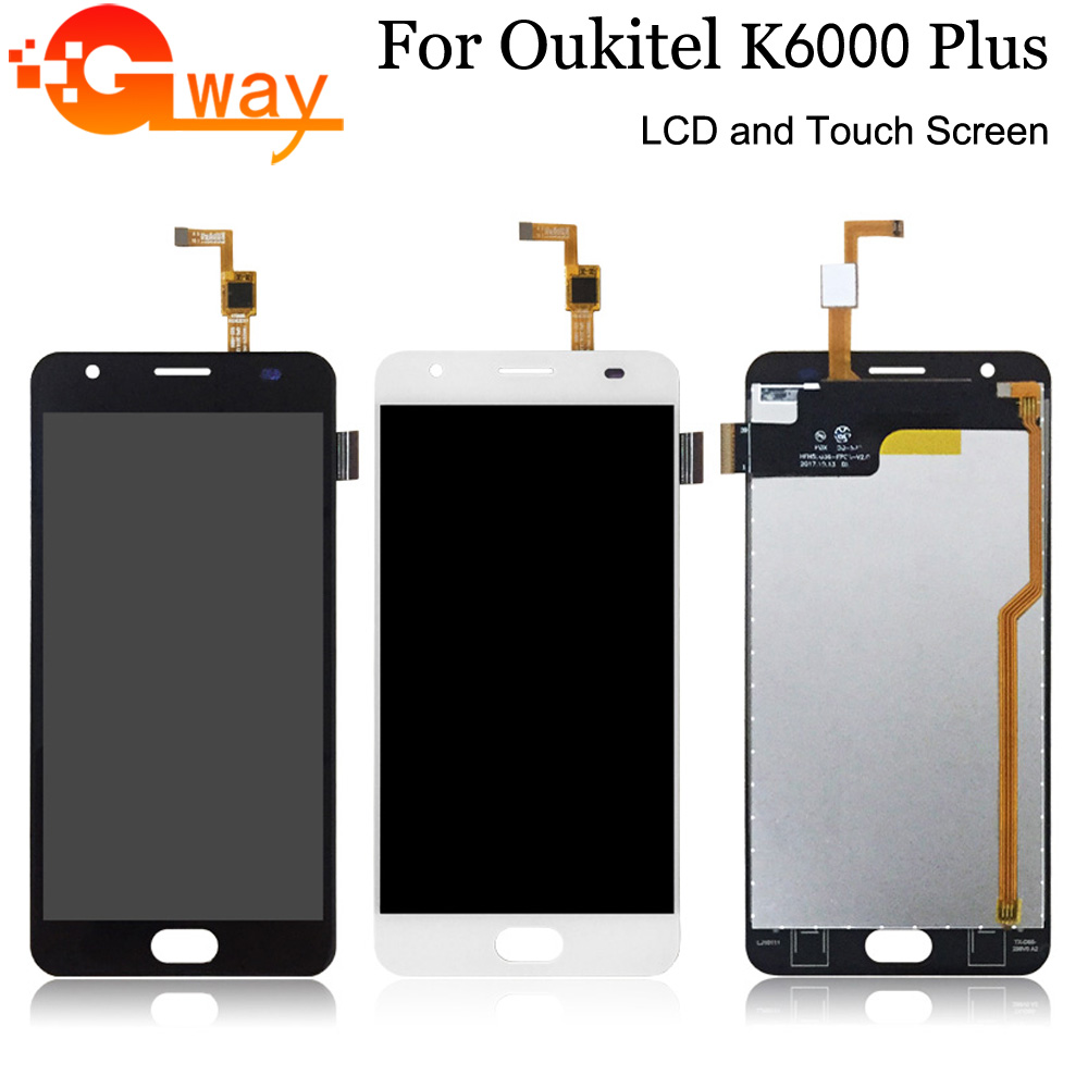 Digitizer-Assembly-Replacement Touch-Screen Lcd-Display K6000-Plus Oukitel for And  title=