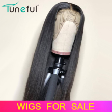 Human-Hair-Wigs Hairline Lace-Front Pre-Plucked Remy Baby Straight Malaysian 13x4 150-%