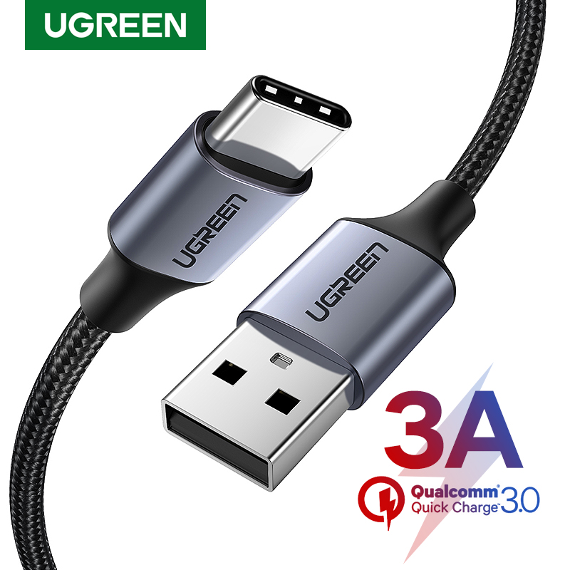 Ugreen C-Cable Charger Usb-Type Note-8 Redmi Fast Samsung S10 3A for S9 Cabo-Wire Pro title=