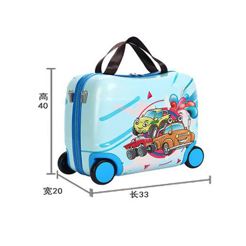 2020 Hot Children/'s Travel Bag Multifunctional Cute Children Bags Portable Riding Box New Traveling Luggage Bags Luggage