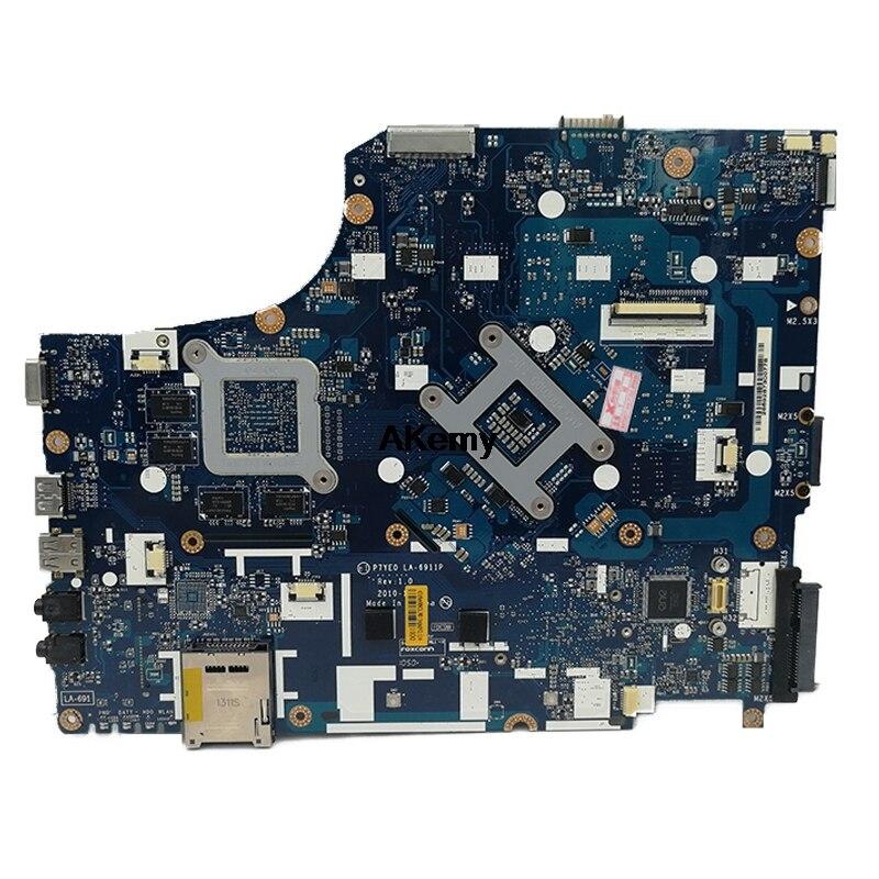 Gateway NV77H series Motherboard P7YE0 LA-6911P s989 MB.RN802.001 MBRN802001