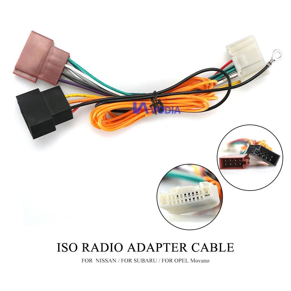 CARAV 12-020 Autoradio Adapterkabel ISO für NISSAN Patrol X-Trail Pathfinde