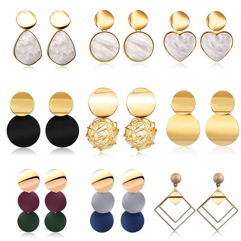 Korean style-Heart-shaped Earring Pendant-19 new models