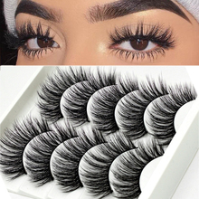 Handmade Eyelashes Extension-Tools-Supplies Makeup Mink-Hair 3D Soft Natural Long-Wispy
