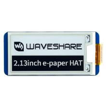 Waveshare 2.13inch E-Ink display HAT for Raspberry Pi 250x122 Resolution e-Paper SPI