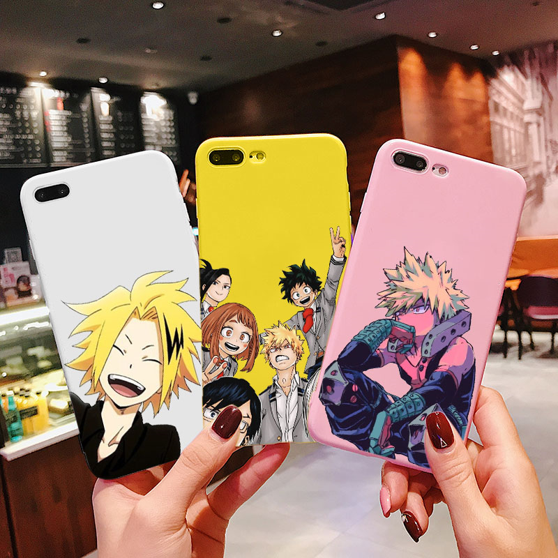 Чехол для телефона с аниме My Hero Academia deku bakugou Boku no iphone 11 Pro 8 7 6 6S Plus X XS MAX 5 XR чехлы