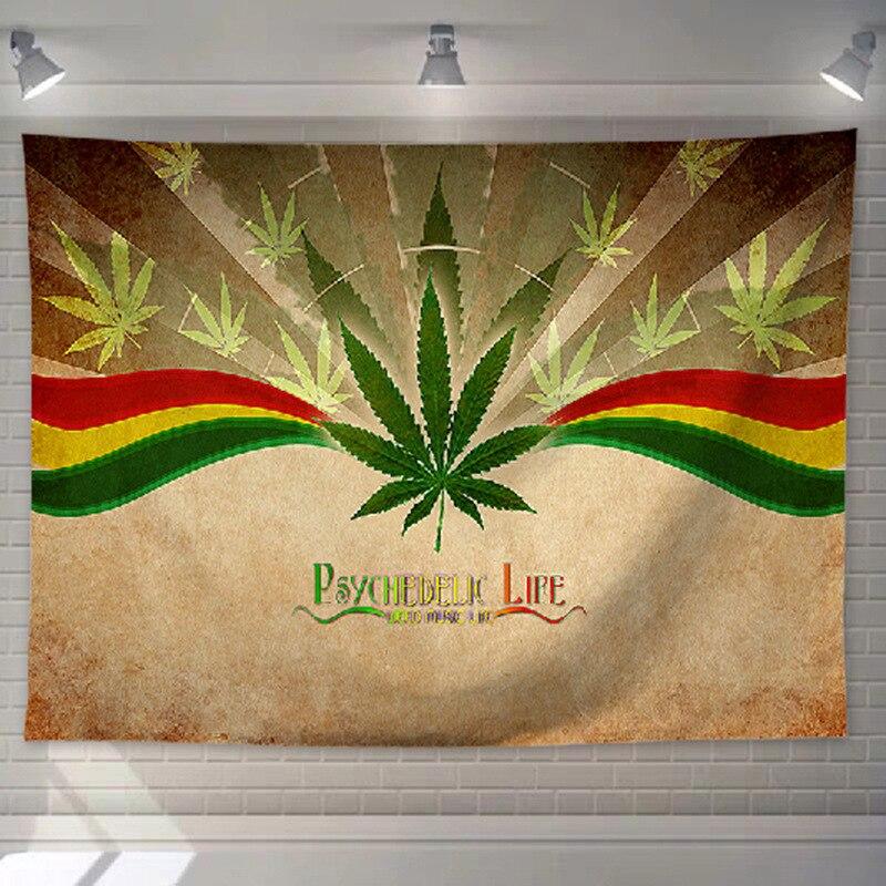 Tenture Rastafari en tissu | Rasta-Lion