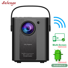Portable Projector Video-Beamer Salange P500 Outdoor Home Theatre Full-Hd 1080P Movies