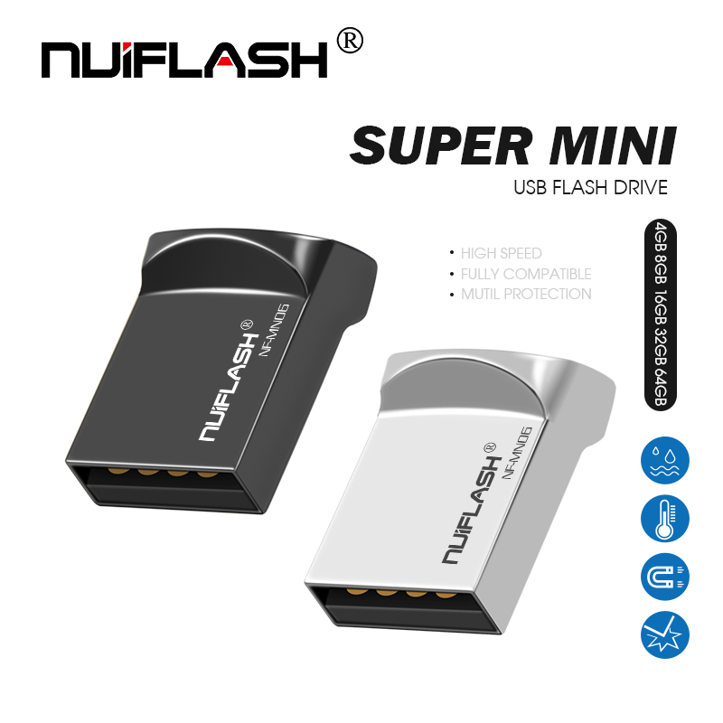 Pendrive 32GB Memory-Stick Usb-Disk Flash Metal Waterproof 16GB 8GB 128GB for Car 64-Gb title=