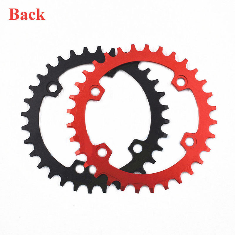 DECKAS Chainring 96BCD-S Narrow Wide MTB Chain Ring MTB Road Bicycle RoundOval Chainwheel 32-38T Fit SHIMANO XTR,XT,SLX (7)