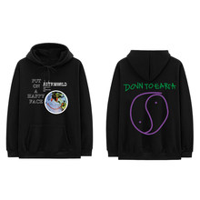 Casual Hoodie Man TRAVIS SCOTT Lollapalooza ASTROWORLD Smiley World Hoodies Men Women Hip Hop Streetwear Hooded Sweatshirt(Китай)