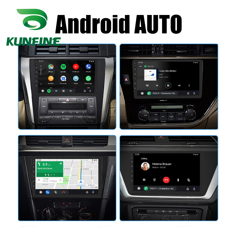 KUNFINE Wireless Wire Apple CarPlay Dongle for Android Car stereo Unit USB Carplay Stick with Android AUTO (11)