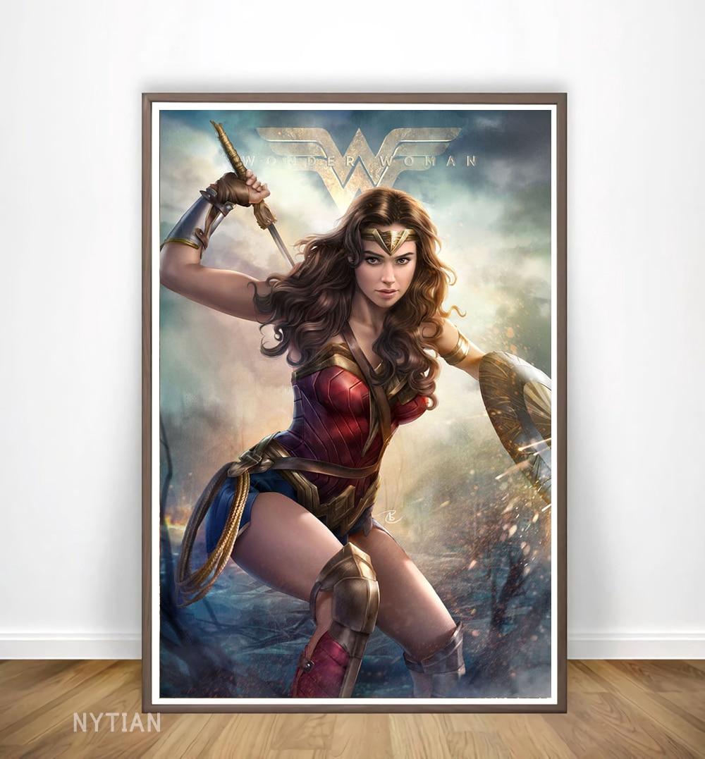 Wonder Woman DC Comics Poster Classic Super Hero Wall Art Print Home Decor New