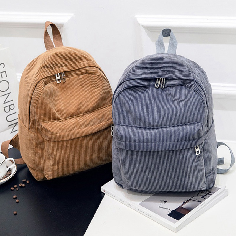 Fashion Women Backpack Student Girl School Bag New Travel Bag Plaid Style Shoulder Bag For Women