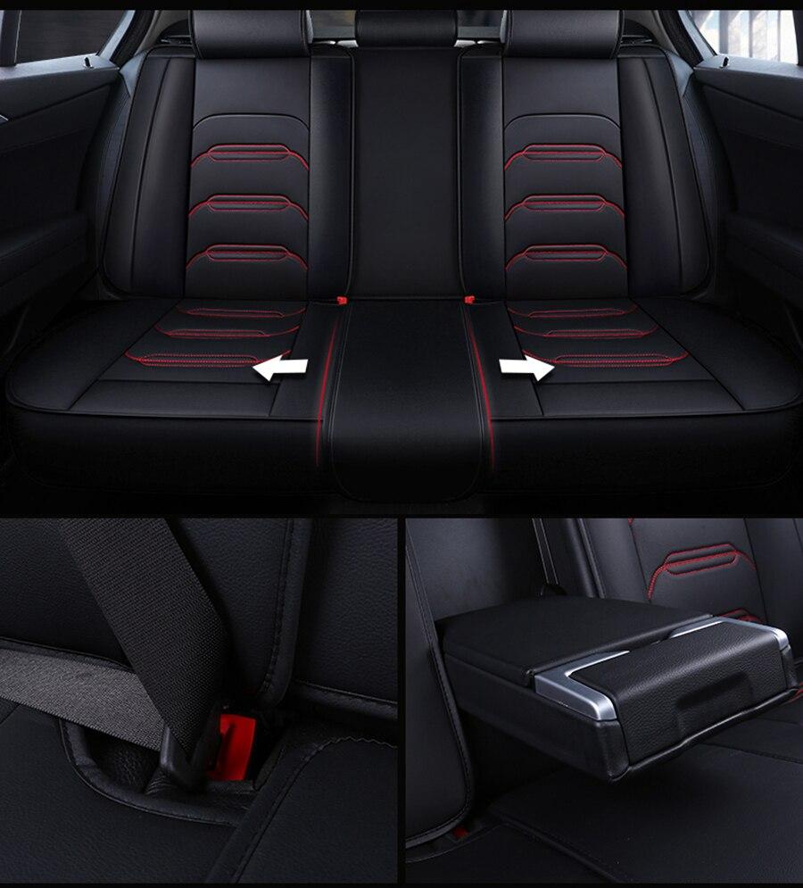 Peugeot 206 Premium Protector de Cubierta de asiento de coche//100/% A Prueba De Agua//Negro