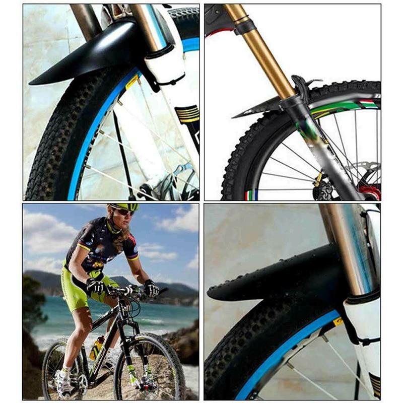 Bicycle Front & Rear Fenders Road Mountain MTB Bike Plastic Mudguards Set