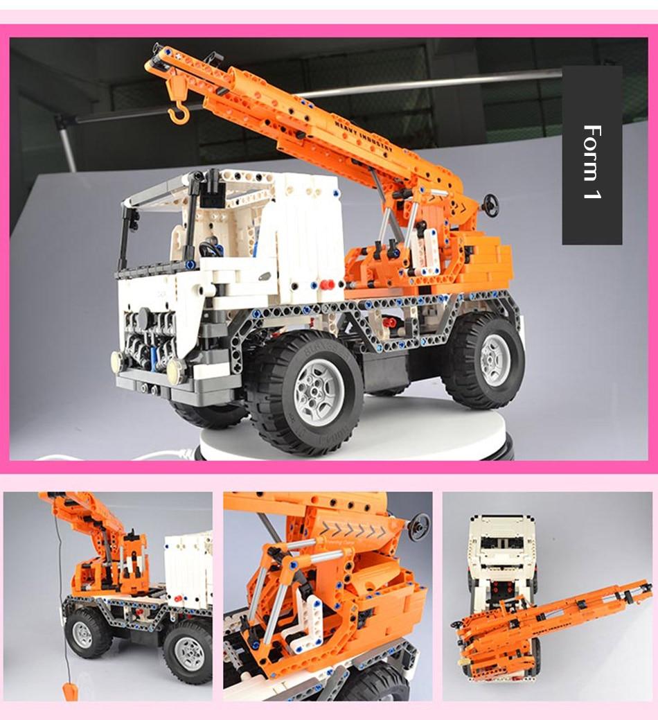 CaDA C51013 Mobile Crane RC Building Block 47