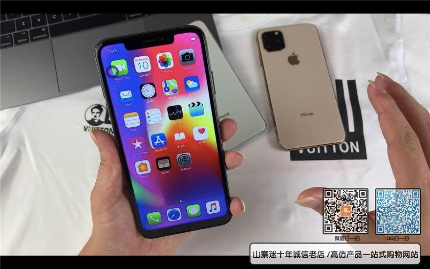 国产iphone11山寨迷开机评测
