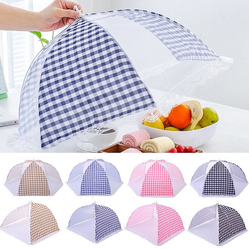 Food-Cover Kitchenware Umbrella-Style Mosquito Anti-Fly Mesh Picnic BBQ 1pcs Folded Polyester title=