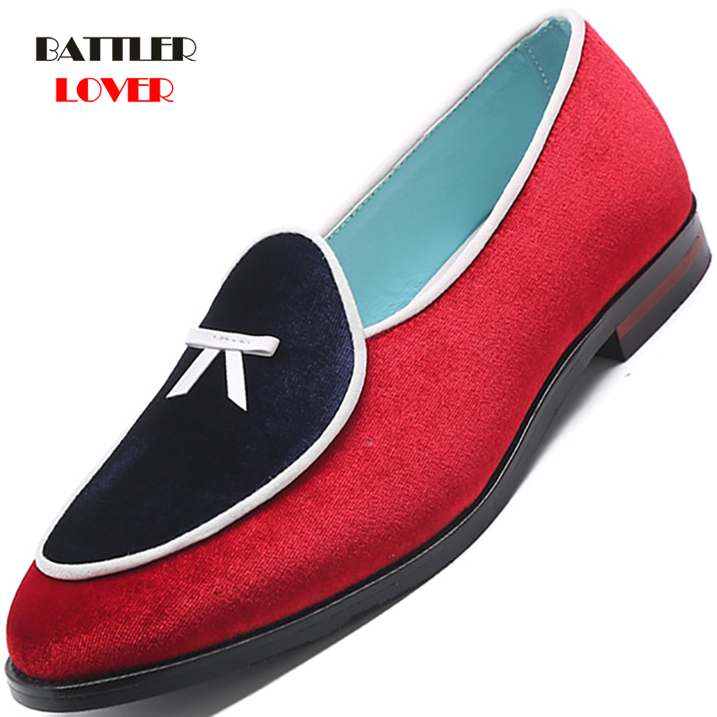 2019 Colorful Suede Loafers New Style Men