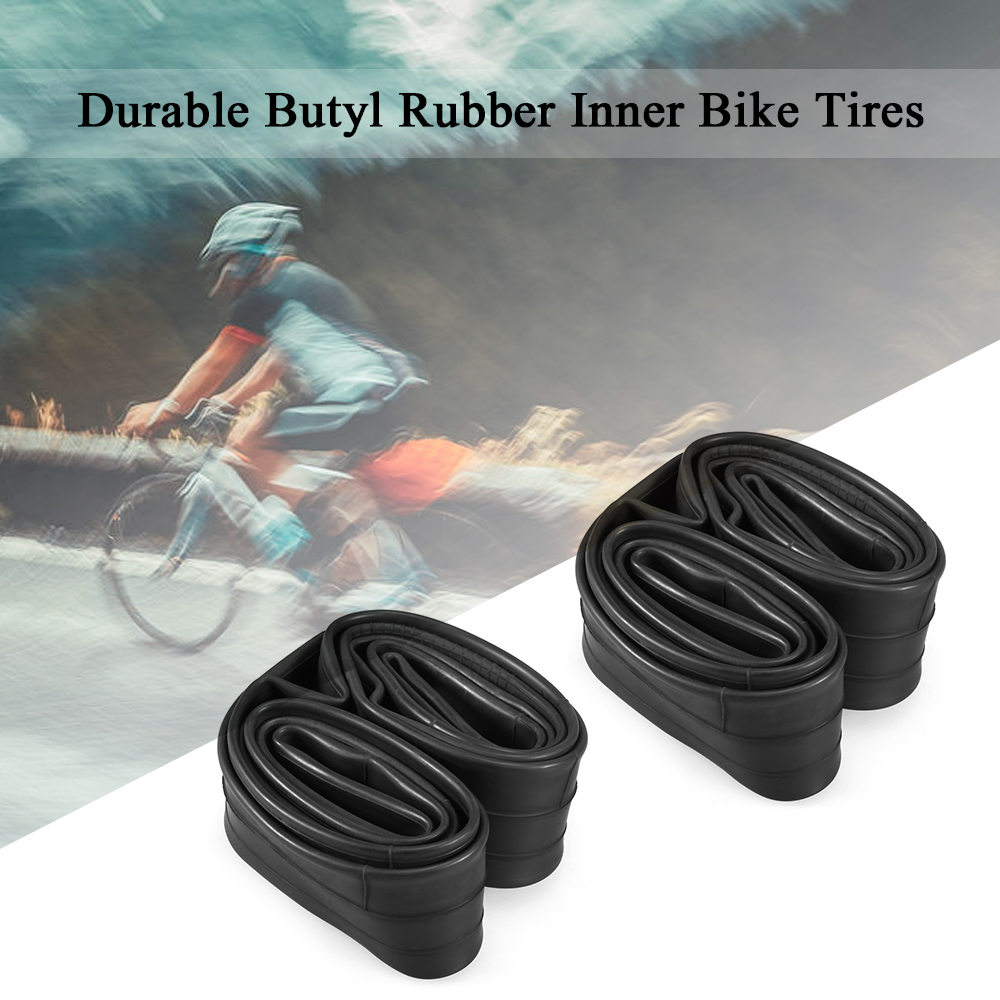 """2Pcs Thorn Resistant Bicycle Inner Tubes 48mm Schrader 29/"""" x 1.95//2.125 Bikes"""