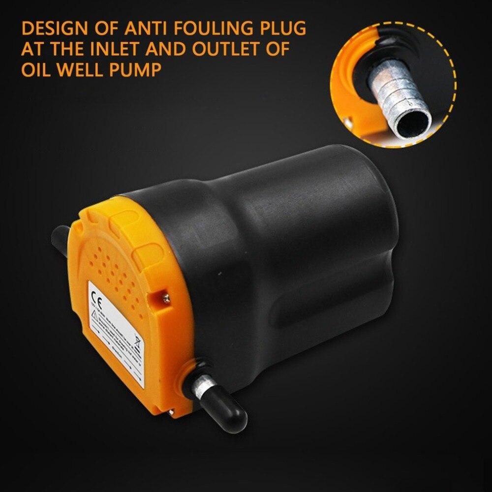 60W Auto pompa oleju silnikowego 12V/24V olej elektryczny/olej napędowy pompa olejowa pompa ssąca silnik łodzi -