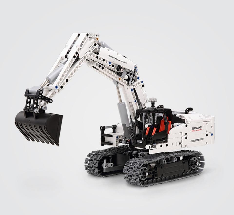 Xiaomi MITU Building Block Engineering Excavator 15