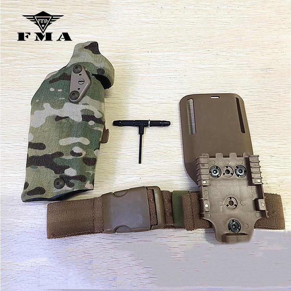 Safariland Crye Multicam FONDINA MOLLE Mount Tactical Tailor Airsoft Militare
