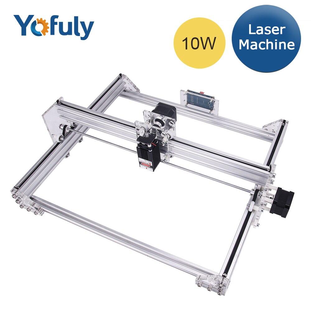 40*50cm Mini DIY Laser Engraving Cutting Machine Printer Kit 5500MW DC 12V 5A