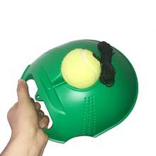 Aids-Base Rope-Ball Tennis-Trainer Sparring-Device Partner with Elastic Practice-Self-Duty