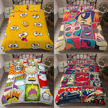Comforter Pillowcases Decor-Bedding-Sets Duvet-Covers Bedroom Homesky King-Size Double-Queen