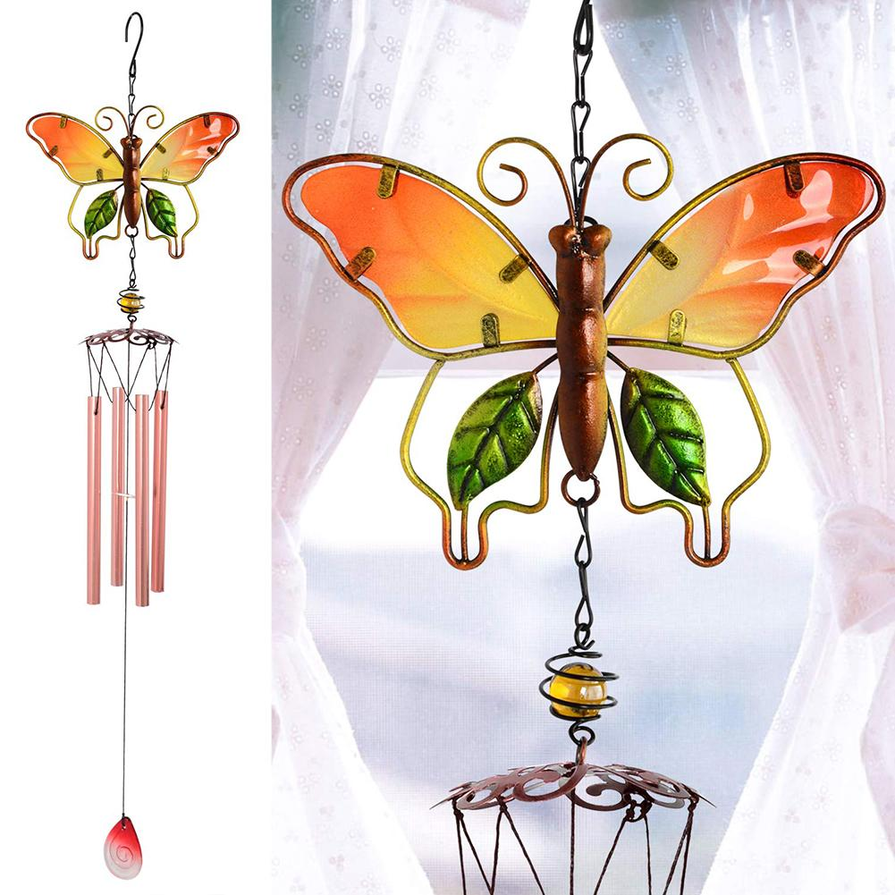 Pack of 4 Heart Wooden Wind Chime Decoration Kits Windchime Bells for Children to Make and Decorate for Valentines or Mothers Day